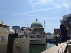 Boats at Rowes Wharf