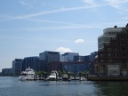 View of the Seaport from Rowes Wharf