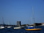 Boats in Boston Harbor