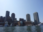 Boston skyline from the Seaport