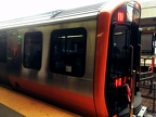 New Orange Line train at Oak Grove